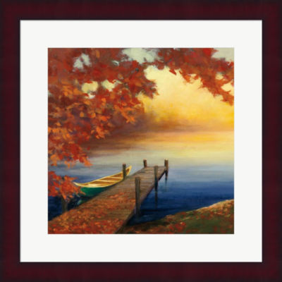 Autumn Glow III Framed Print Wall Art