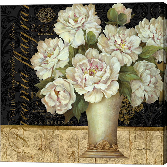 Metaverse Art Antique Floral Still Life II GalleryWrapped Canvas Wall Art