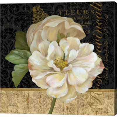 Metaverse Art Antique Still Life Rose by Pamela Gladding Gallery Wrapped Canvas Wall Art