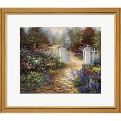 Metaverse Art Gateway To Enchantment Framed PrintWall Art