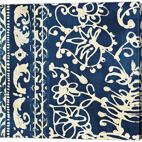 Bali Tapestry I Gallery Wrapped Canvas Wall Art OnDeep Stretch Bars