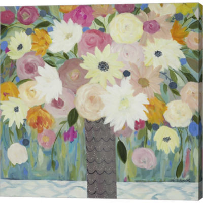Bask In The Beauty Of It All Gallery Wrapped Canvas Wall Art On Deep Stretch Bars