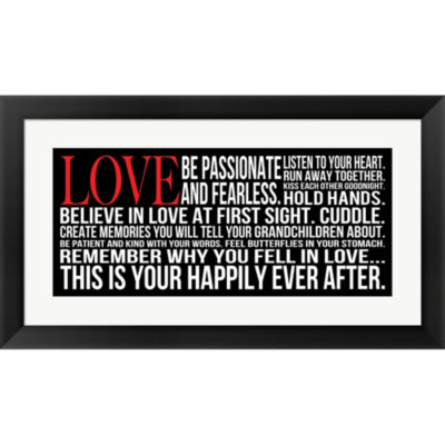 Metaverse Art Be Passionate 2 Framed Print Wall Art