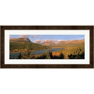 Metaverse Art Glacier National Park Montana FramedPrint Wall Art