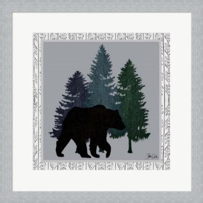 Metaverse Art Bear Framed Print Wall Art