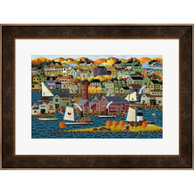 Metaverse Art Gloucester Framed Print Wall Art
