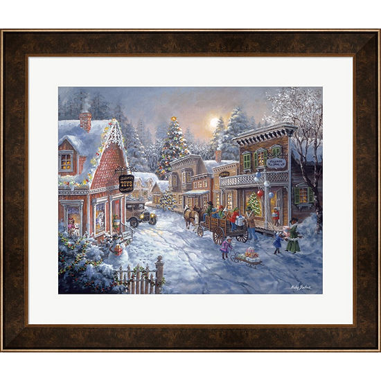 Metaverse Art Good Old Days Framed Print Wall Art