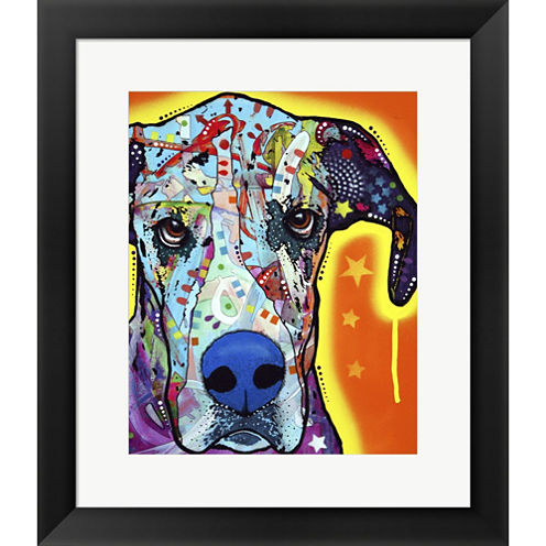 Great Dane Framed Print Wall Art