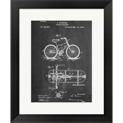 Bicycle E Framed Print Wall Art