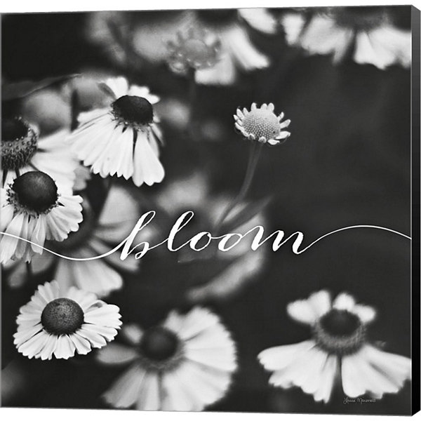 Bloom Gallery Wrapped Canvas Wall Art On Deep Stretch Bars