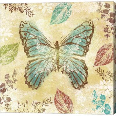 Metaverse Art Botanical Beauty I Gallery Wrapped Canvas Wall Art