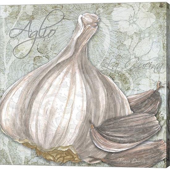 Metaverse Art Buon Appetito Garlic Gallery Wrappedcanvas Wall Art