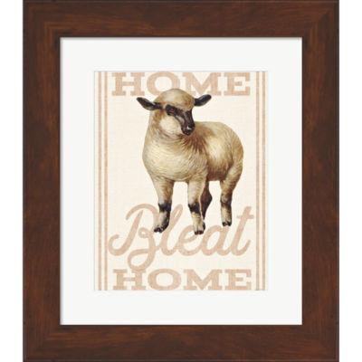 Metaverse Art Home Bleat Home Framed Print Wall Art