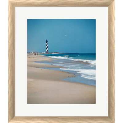Metaverse Art Cape Hatteras Lighthouse Cape Hatteras National Seashore North Carolina Usa Prior To 1999 RelocationFramed Print Wall Art