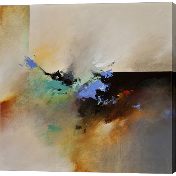Metaverse Art Clouds Connected I Gallery Wrapped Canvas Wall Art