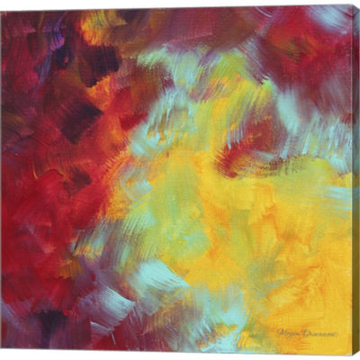 Metaverse Art Colors Of Glory I Gallery Wrapped Canvas Wall Art