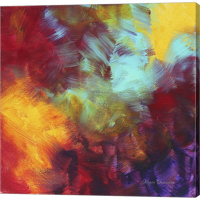 Colors Of Glory II Gallery Wrapped Canvas Wall ArtOn Deep Stretch Bars