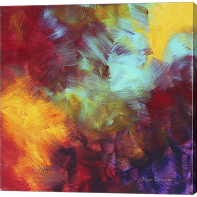 Metaverse Art Colors Of Glory II Gallery Wrapped Canvas Wall Art