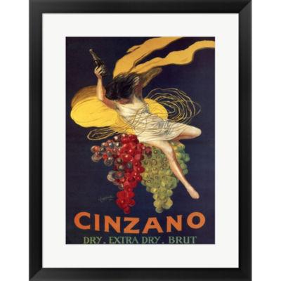 Metaverse Art Cinzano Framed Print Wall Art
