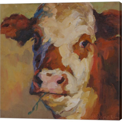 Curly Sue Gallery Wrapped Canvas Wall Art On DeepStretch Bars