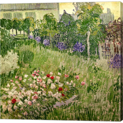 Metaverse Art Daubigny's Garden 1890 Gallery Wrapped Canvas Wall Art