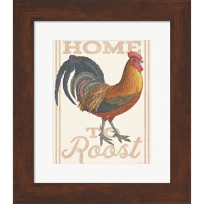 Metaverse Art Home To Roost II Framed Print Wall Art