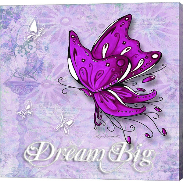 Dream Big by Megan Duncanson Gallery Wrapped Canvas Wall Art On Deep Stretch Bars