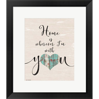 Metaverse Art Home With You Framed Print Wall Art