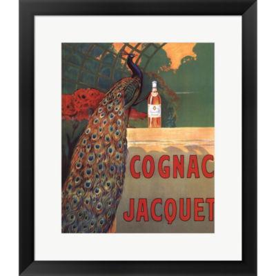 Metaverse Art Cognac Jacquet Framed Print Wall Art