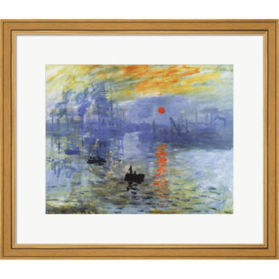 Metaverse Art Impression Sunrise C.1872 Framed Print Wall Art
