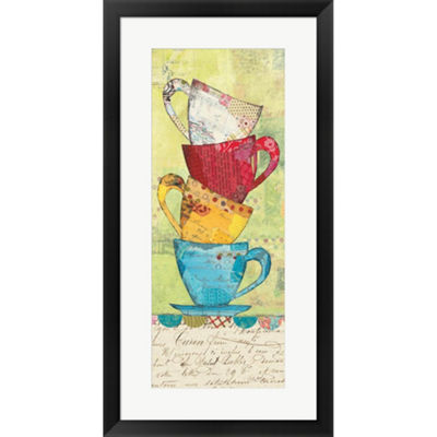 Metaverse Art Come For Coffee Framed Print Wall Art