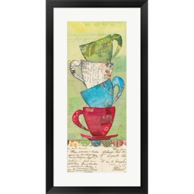 Metaverse Art Come For Tea Framed Print Wall Art