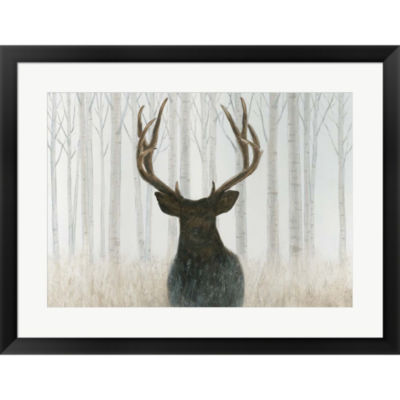 Metaverse Art Into The Forest Framed Print Wall Art