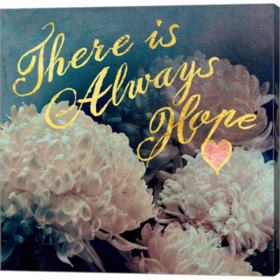 Metaverse Art Flowersay 3 Gallery Wrapped Canvas Wall Art