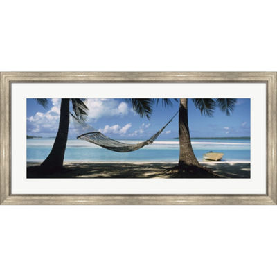 Metaverse Art Cook Islands South Pacific Framed Print Wall Art
