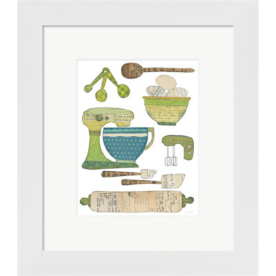 Cook Kitchen I Framed Print Wall Art