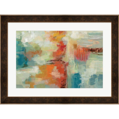 Coral Reef Framed Print Wall Art