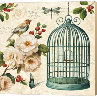 Free As A Bird I Gallery Wrapped Canvas Wall Art On Deep Stretch Bars