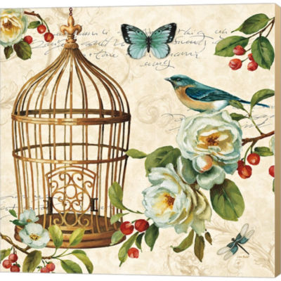 Free As A Bird II Gallery Wrapped Canvas Wall ArtOn Deep Stretch Bars
