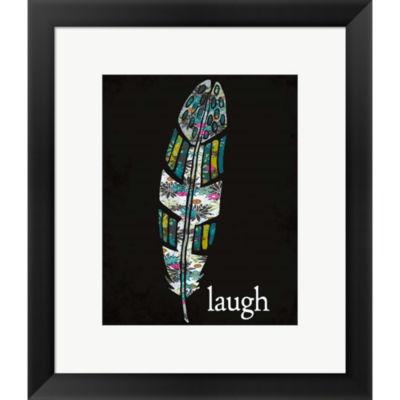 Metaverse Art Laugh Framed Print Wall Art