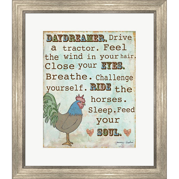 Country Life Framed Print Wall Art