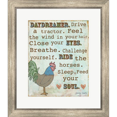 Metaverse Art Country Life Framed Print Wall Art