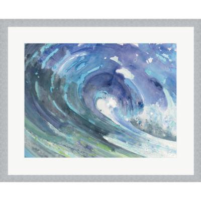 Curl Framed Print Wall Art