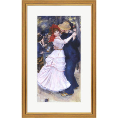 Metaverse Art Dance At Bougival Framed Print WallArt