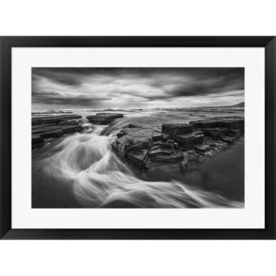 Dance Of Water Framed Print Wall Art