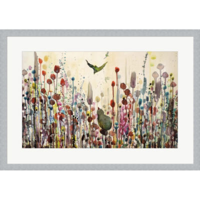 Metaverse Art Learning To Fly Framed Print Wall Art