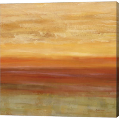Metaverse Art Horizons Spice I by Cynthia CoulterGallery Wrapped Canvas Wall Art