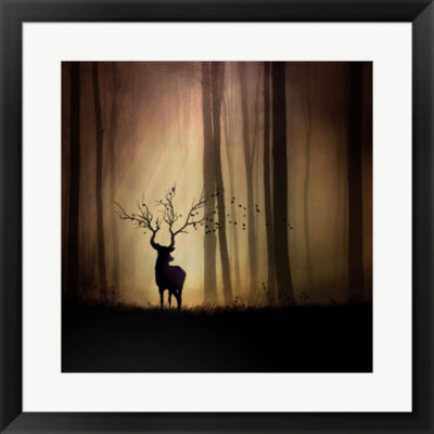 Metaverse Art Legendes D'Automne Framed Print WallArt