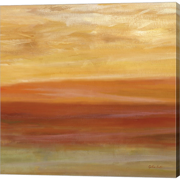 Metaverse Art Horizons Spice II Gallery Wrapped Canvas Wall Art