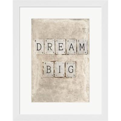 Dream Big by Symposium Design Framed Print Wall Art